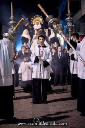 Traslado de regreso de los titulares del Santo Entierro a su Capilla 2017 (11)