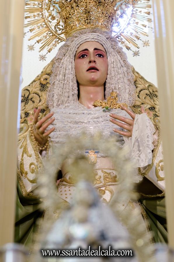 Virgen de la Oliva en su paso de palio 2017 (11)