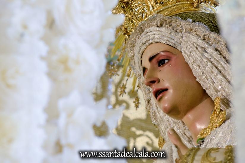 Virgen de la Oliva en su paso de palio 2017 (12)