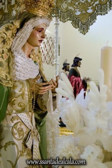Virgen de la Oliva en su paso de palio 2017 (13)