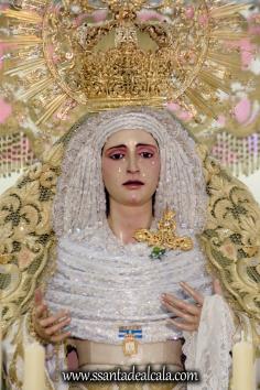 Virgen de la Oliva en su paso de palio 2017 (2)
