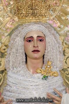 Virgen de la Oliva en su paso de palio 2017 (3)