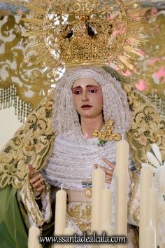 Virgen de la Oliva en su paso de palio 2017 (5)
