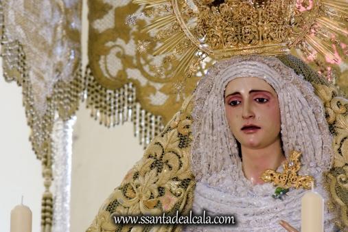 Virgen de la Oliva en su paso de palio 2017 (6)