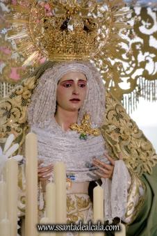 Virgen de la Oliva en su paso de palio 2017 (7)