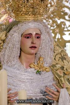 Virgen de la Oliva en su paso de palio 2017 (8)