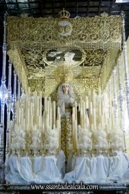 Virgen del Rosario en su paso de palio 2017 (1)