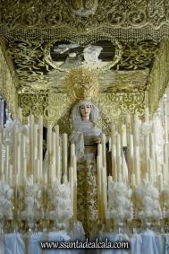 Virgen del Rosario en su paso de palio 2017 (2)