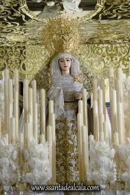 Virgen del Rosario en su paso de palio 2017 (3)
