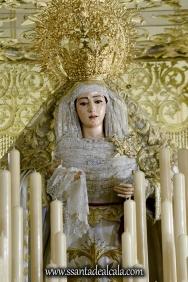 Virgen del Rosario en su paso de palio 2017 (4)