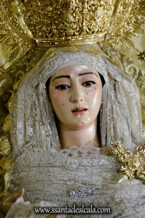Virgen del Rosario en su paso de palio 2017 (7)