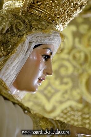 Virgen del Rosario en su paso de palio 2017 (8)