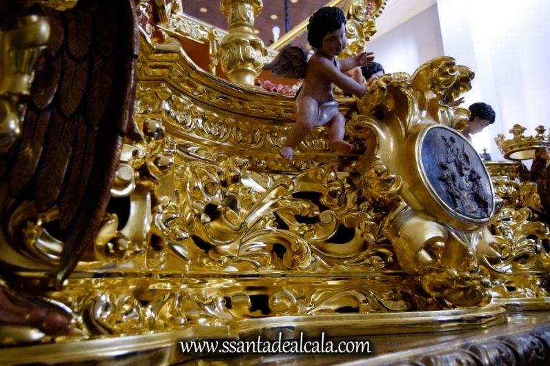 Restauración del paso del Señor de la Buena Muerte (3)