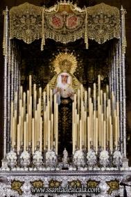Virgen del Socorro en su paso de palio 2017 (1)