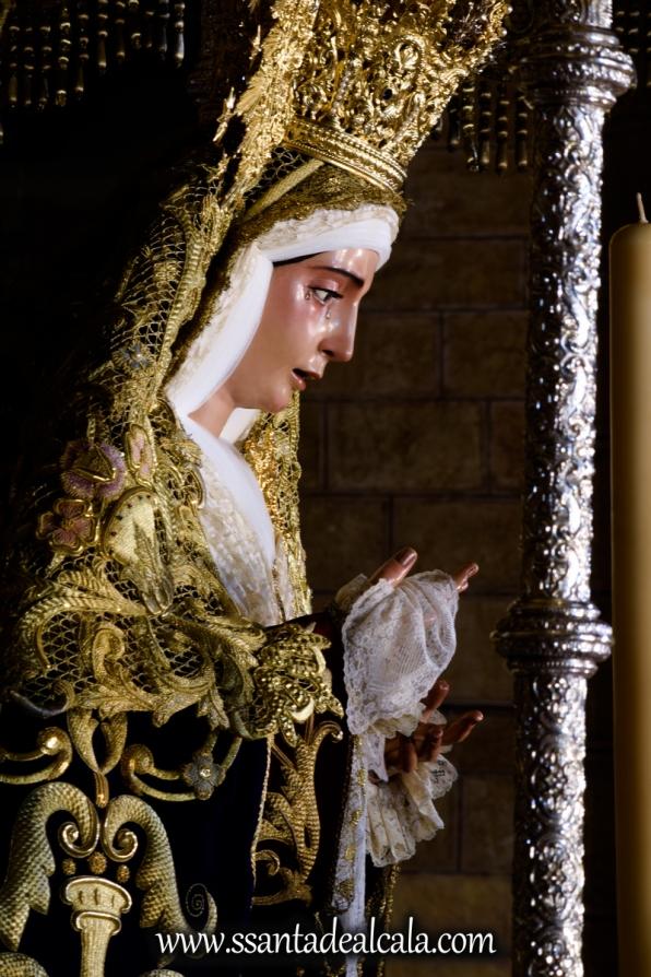 Virgen del Socorro en su paso de palio 2017 (10)