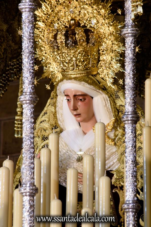 Virgen del Socorro en su paso de palio 2017 (11)