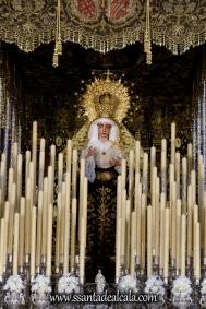 Virgen del Socorro en su paso de palio 2017 (2)