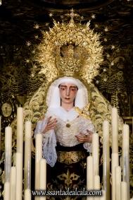 Virgen del Socorro en su paso de palio 2017 (4)