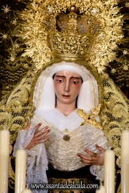Virgen del Socorro en su paso de palio 2017 (5)