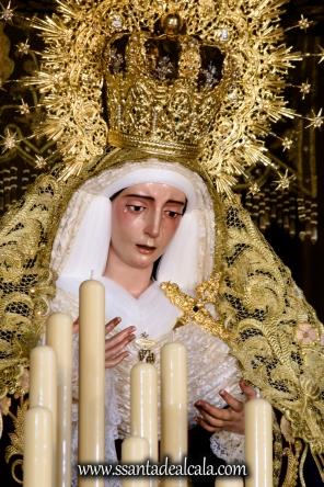 Virgen del Socorro en su paso de palio 2017 (6)
