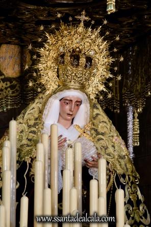 Virgen del Socorro en su paso de palio 2017 (7)