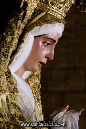 Virgen del Socorro en su paso de palio 2017 (9)