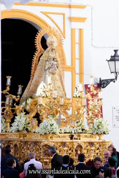 Salida Procesional de la Virgen del Dulce Nombre 2017 (1)