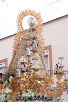 Salida Procesional de la Virgen del Dulce Nombre 2017 (10)