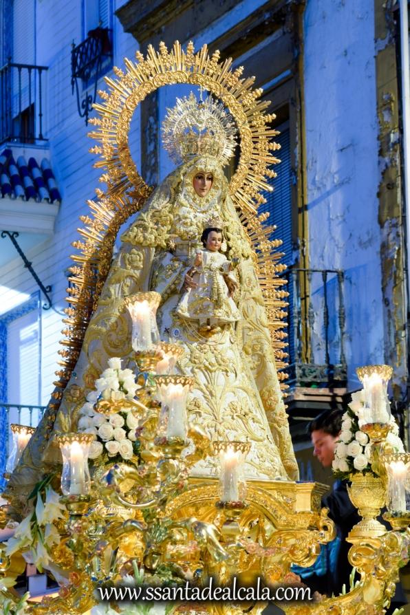 Salida Procesional de la Virgen del Dulce Nombre 2017 (19)