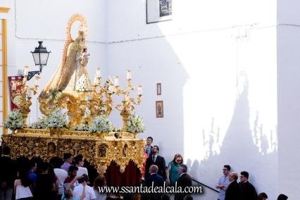Salida Procesional de la Virgen del Dulce Nombre 2017 (2)