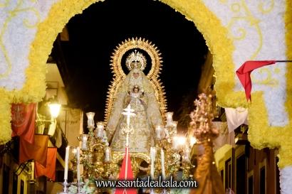 Salida Procesional de la Virgen del Dulce Nombre 2017 (22)