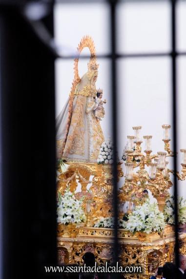 Salida Procesional de la Virgen del Dulce Nombre 2017 (4)