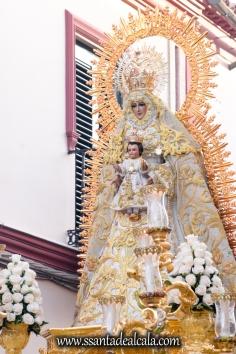 Salida Procesional de la Virgen del Dulce Nombre 2017 (5)
