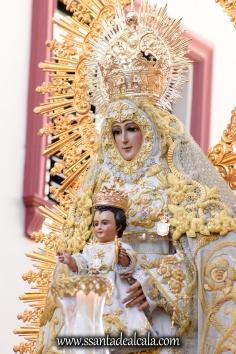 Salida Procesional de la Virgen del Dulce Nombre 2017 (6)