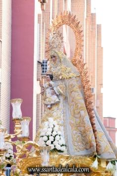 Salida Procesional de la Virgen del Dulce Nombre 2017 (8)