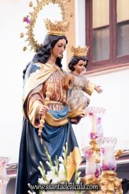 Salida Procesional de María Auxiliadora Coronada 2017 (10)