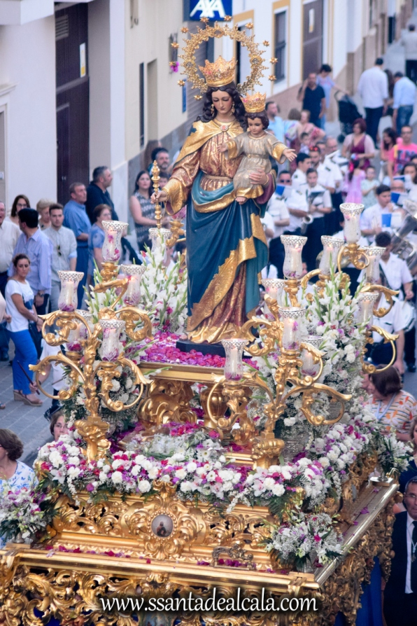 Salida Procesional de María Auxiliadora Coronada 2017 (23)