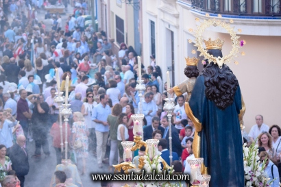 Salida Procesional de María Auxiliadora Coronada 2017 (25)