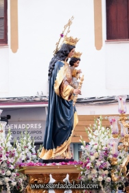 Salida Procesional de María Auxiliadora Coronada 2017 (9)