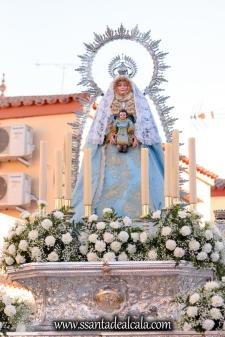 Salida Procesional de la Virgen de la Aguilita 2017 (13)