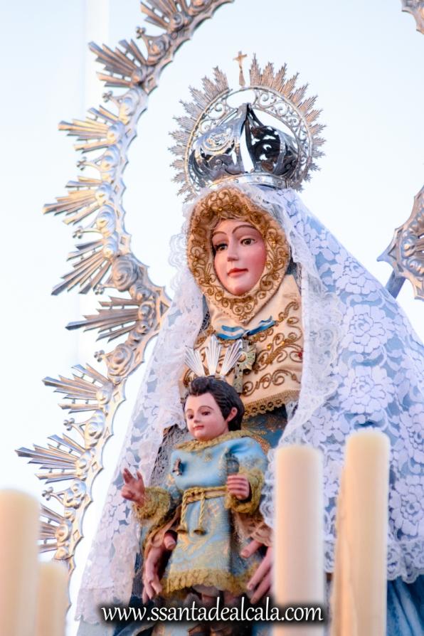Salida Procesional de la Virgen de la Aguilita 2017 (14)