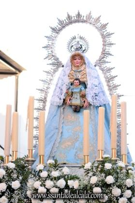 Salida Procesional de la Virgen de la Aguilita 2017 (2)