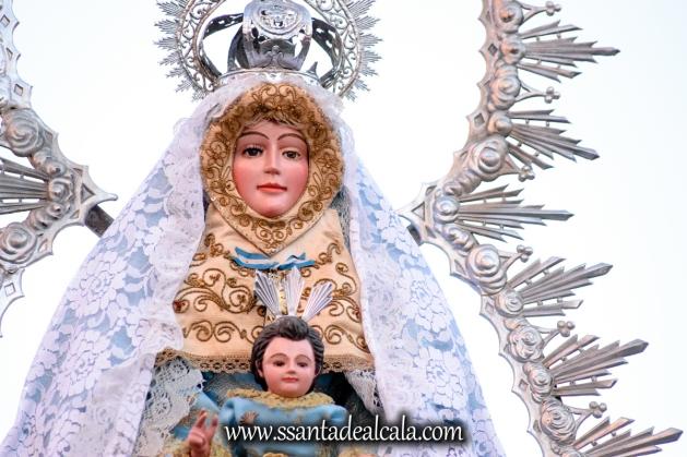 Salida Procesional de la Virgen de la Aguilita 2017 (3)