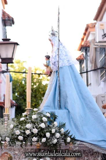 Salida Procesional de la Virgen de la Aguilita 2017 (6)