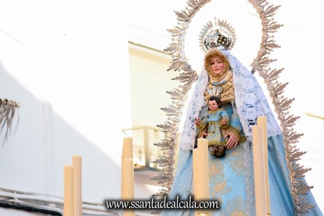 Salida Procesional de la Virgen de la Aguilita 2017 (7)