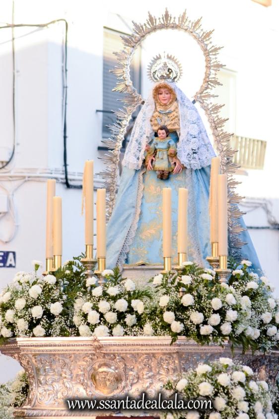 Salida Procesional de la Virgen de la Aguilita 2017 (9)