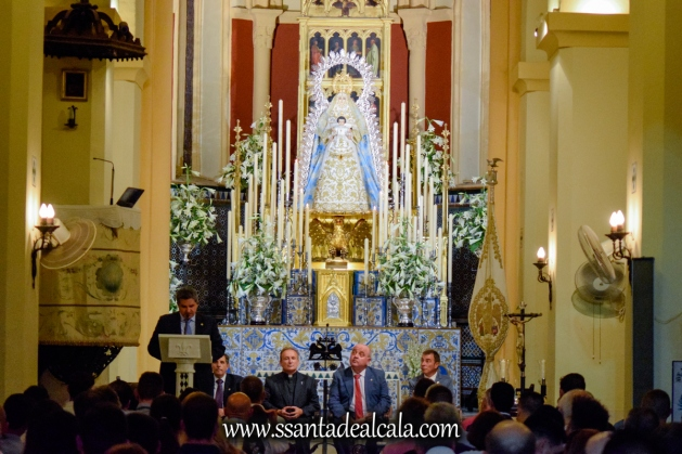 Entrega del llamador de la Virgen del Águila 2017 (1)