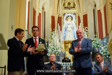 Entrega del llamador de la Virgen del Águila 2017 (11)