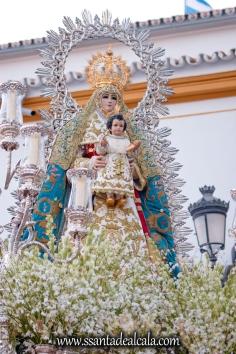 Salida Procesional de la Virgen del Águila 2017 (11)