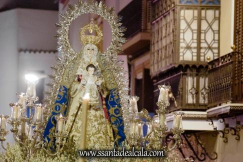 Salida Procesional de la Virgen del Águila 2017 (17)